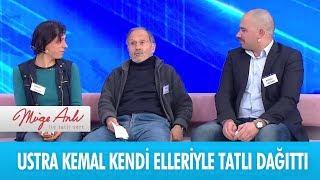 Ustra Kemal kendi elleriyle çocuklarına tatlı ikram etti - Müge Anlı ile Tatlı Sert 20 Aralık 2018