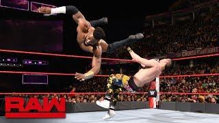 Cedric Alexander & Mustafa Ali vs. Drew Gulak & TJP: Raw, March 26, 2018
