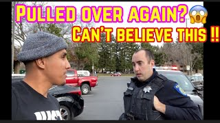 Cop Pulls Me over For stock Exhaust then this happened!! * SMH