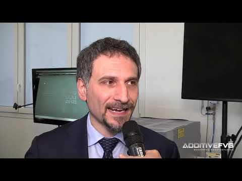 Inaugurazione Additive FVG Square - Intervista a Giuseppe Saragò, Wartsila