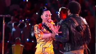 I kissed a girl Live at Super Bowl 2015 Katy Perry