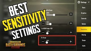 How to change you sensitivity in pubg mobile videos / InfiniTube