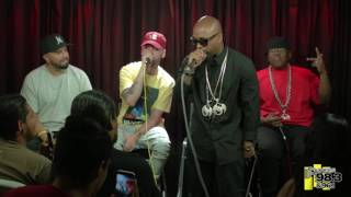 "Live Studio Session performance Tech N9ne  ""Get Off Me"" Feat & Darrein Safron"