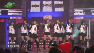HD SNSD - Girls' Generation , Dec19.2007 2of2 GIRLS' GENERATION Live 720p