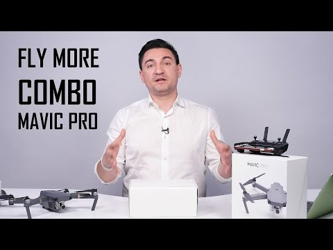 UNBOXING ȘI PREZENTARE PACHET EXTRA - FLY MORE COMBO FOR MAVIC PRO