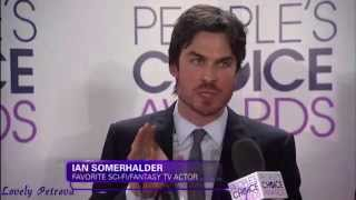 PCA 2014 Ian Nina Joseph on Red Carpet