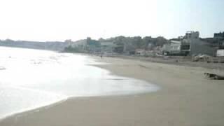 playa blanca punta hermosa, aqui toy filmando