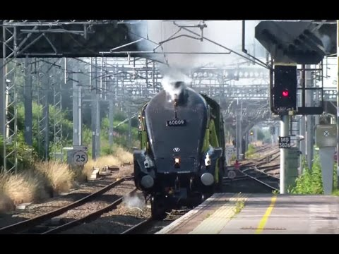 60009 Union Of South Africa Returns  22.7.12