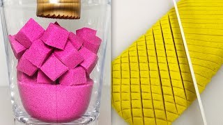 Very Satisfying Video Compilation 89 Kinetic Sand Cutting ASMR