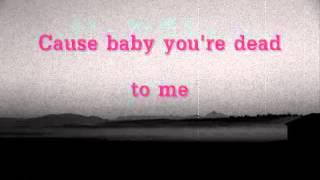 Dead To Me by Melanie Martinez [Lyric Video]