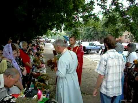 Blessing of Flowers in Orikhiv, Ukraine.  (Part 2)