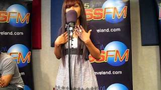 Auburn Performing Perfect Two Live at 965 kissfm Performance studios Cleveland