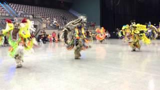 2015 Seminole Tribal Fair PowWow - Men's Fancy Dance