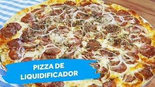 Pizza de Liquidificador | Colher de Sopa
