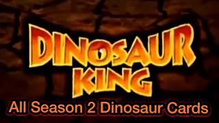 Dinosaur King : All Season 2 Dinosaurs