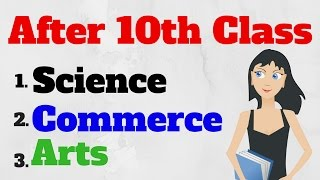 What after 10th Class ??? Commerce, Science ,Arts/Humanities [in hindi] width=