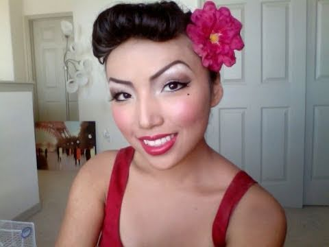 Easy Pin up girl Make-up