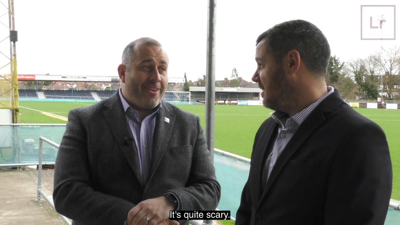 Wealdstone FC interview with Dean Brennan