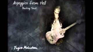 Arpeggios from Hell - Yngwie Malmsteen (Backing Track 85% Speed)