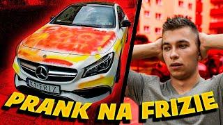 ZNISZCZYŁEM AUTO FRIZA PRANK!!! *był w szoku*