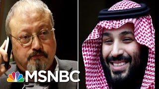 Journalist Jamal Khashoggi Honored 100 Days After His Death   Velshi & Ruhle   MSNBC