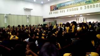 ABERTURA DO 18° CONGRESSO DE JOVENS, MINISTÉRIO NOVAS DE PAZ