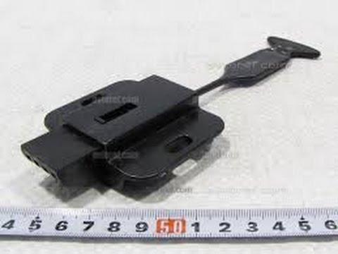 Таврия 1102 (Как установить механизм фиксации спинки заднего сидения)