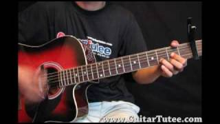 Nickelback - If Today Was Your Last Day, by www.GuitarTutee.com