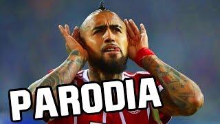 Canción de Arturo Vidal (Parodia Shakira - Chantaje ft Maluma)