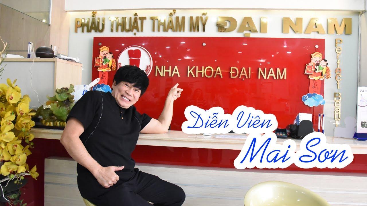 diễn viên Mai Sơn review sau khi bọc răng sứ tại Nha khoa Đại Nam
