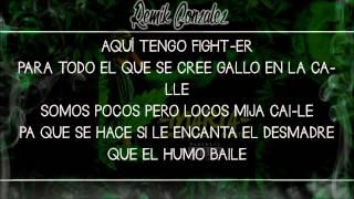 Llenando La Agenda (LETRA HD) - Remik Gonzalez & B-Raster