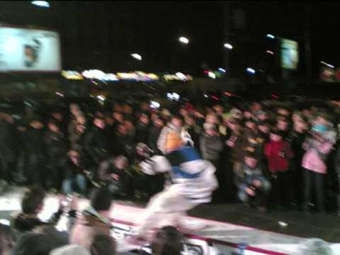 5-й фестиваль сноуборд видео. джиб перед показом