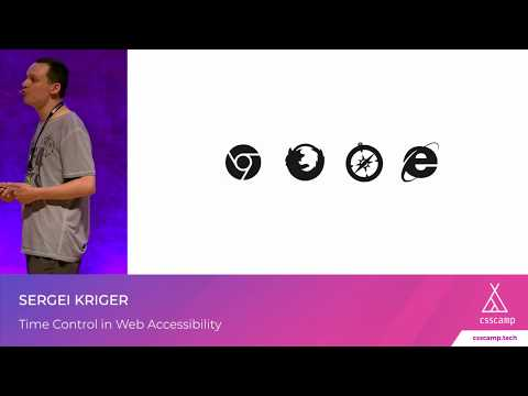 Time Control in Web Accessibility
