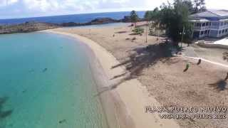 Playa Puerto Nuevo en Vega Baja Puerto Rico