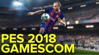 PES 2018 - Gamescom Trailer Gameplay