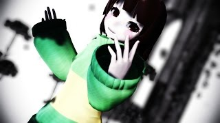 【MMD x UT】Pity Party [Frisk & Chara]