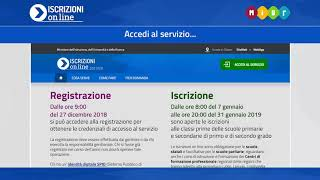 Iscrizioni online 2019/20 - 01 Come registrarsi