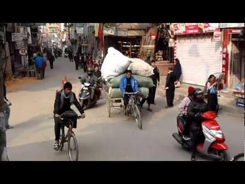 Traffic at Chhetrapati, Kathmandu