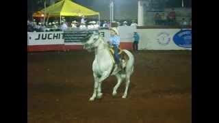 niña bailando caballo