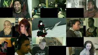 RWBY Volume 3- Ruby & Students vs Nevermore Grimm Reaction Mashup!!