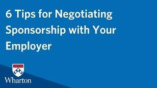 Negotiating Employer MBA Sponsorship