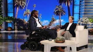 Ellen's Incredible Surprise for 'Amazing Emeka'