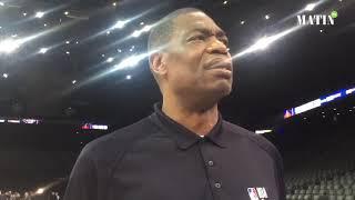 NBA Paris Game 2020, Dikembe Mutombe : La Ligue NBA africaine est un rêve devenu réalité