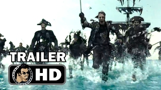 PIRATES OF THE CARIBBEAN 5 Extended Super Bowl Spot + Official Trailer (2017) Johnny Depp Movie HD