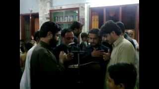 Pashto Noha Karballah dy Haqo Liyara Bangash zakireen shia Pehlwan Goth Karachi width=