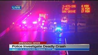 Man dies after 4-vehicle crash on EB I-70 near Sterling