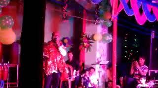 Kunj bihari live stage show in bhakti mathili song
