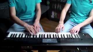 Psy - Gentleman (DRUM / PIANO COVER)