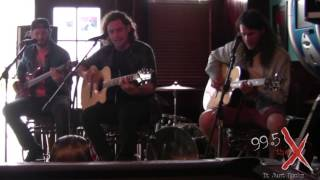"""Devour The Day - """"Lightning In The Sky"""" Acoustic - 99.5 The X"""