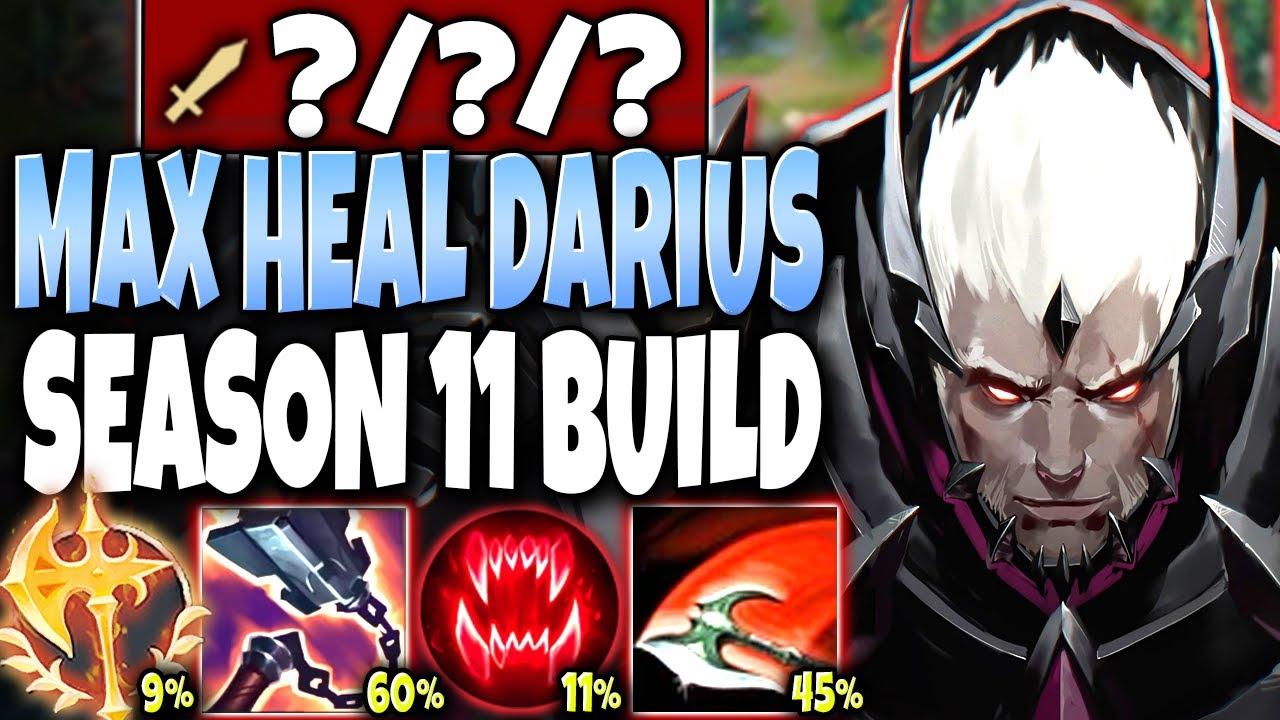 BaLoRi - Our Darius Season 11 Max Heal Build will CHANGE THIS GAME 🔥 LoL Top Darius Preseason s11 Gameplay